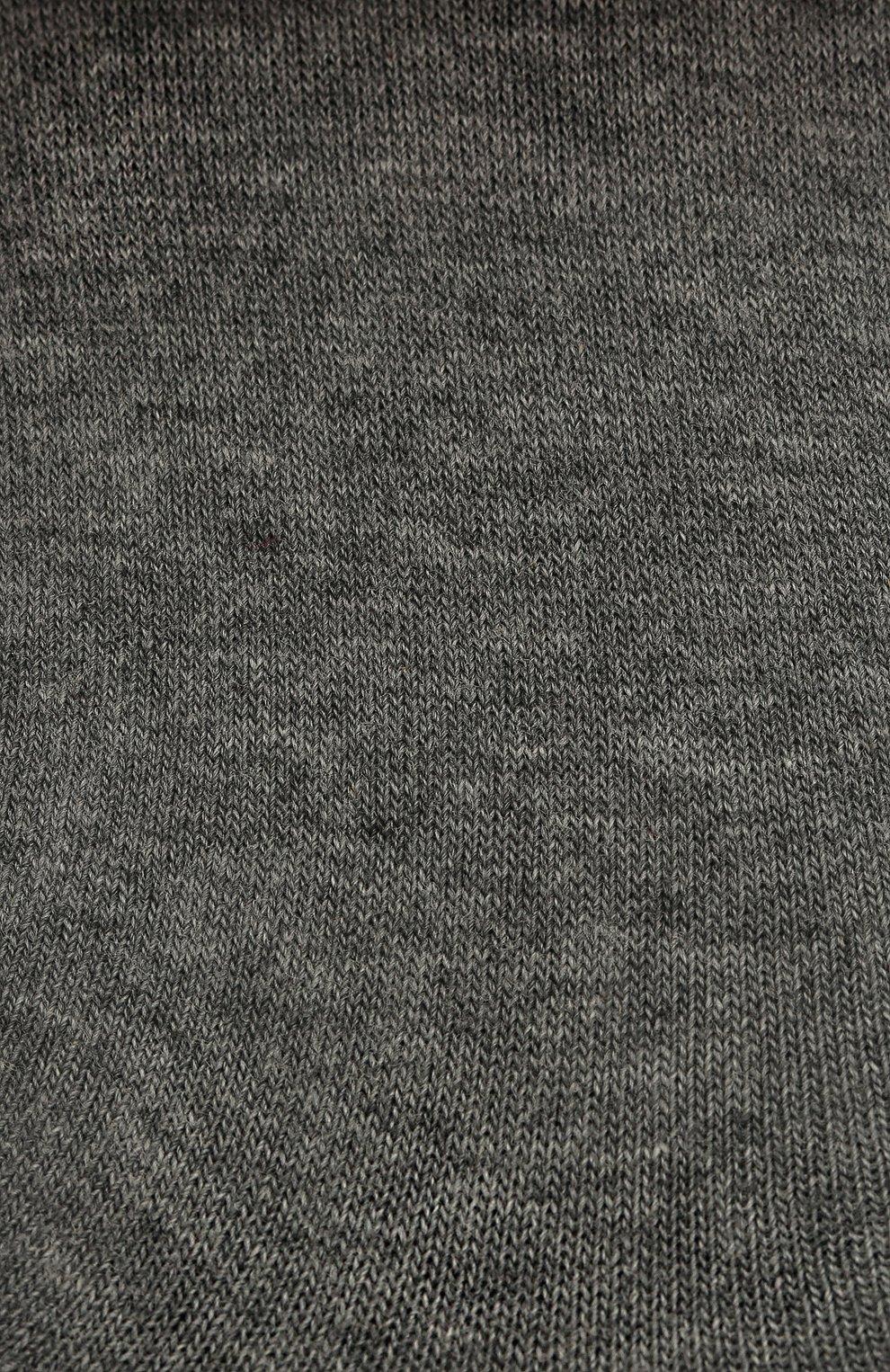 Женские хлопковые подследники step FALKE серого цвета, арт. 47567   Фото 2