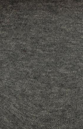 Женские хлопковые подследники step FALKE серого цвета, арт. 47567 | Фото 2