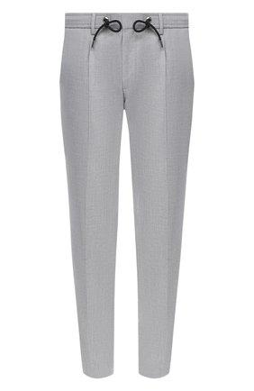 Мужской брюки BOSS серого цвета, арт. 50433680 | Фото 1
