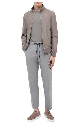Мужской брюки BOSS серого цвета, арт. 50433680 | Фото 2