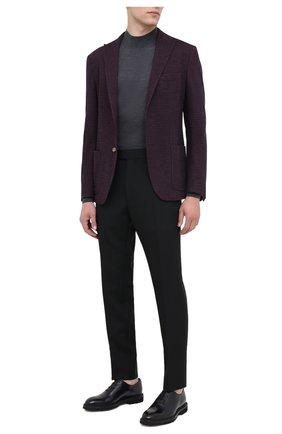 Мужские кожаные оксфорды BARRETT темно-синего цвета, арт. 192U030.20/BETIS CREAM | Фото 2
