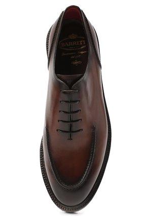 Мужские кожаные дерби BARRETT светло-коричневого цвета, арт. 202U029.2/BETIS CREAM | Фото 5