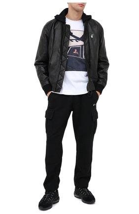 Мужская хлопковая футболка LIMITATO белого цвета, арт. HELL IS/T-SHIRT RELAX | Фото 2