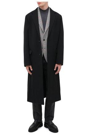 Мужские кожаные лоферы BALLY черного цвета, арт. N0RRIS0N/10 | Фото 2