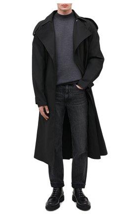 Мужские кожаные ботинки BALLY черного цвета, арт. LYSIUS/10 | Фото 2