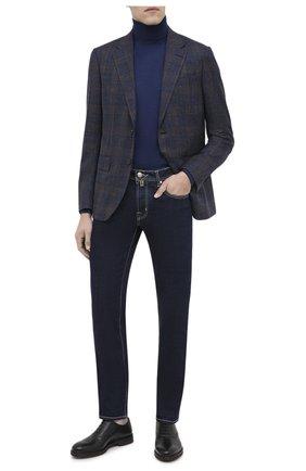 Мужские кожаные оксфорды MORESCHI черного цвета, арт. 43553/162/B0RG0GNA/F.NAPPA | Фото 2