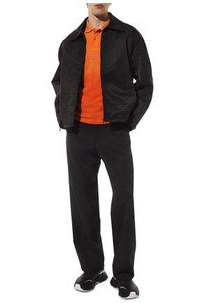 Мужские кожаные кроссовки daymaster DOLCE & GABBANA черно-белого цвета, арт. CS1791/AX589 | Фото 2