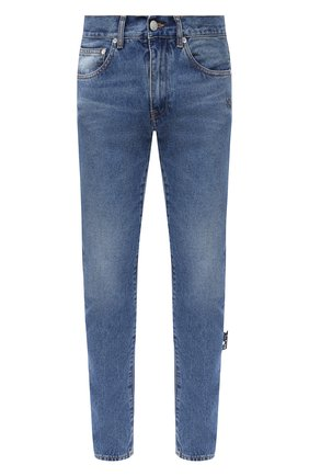 Мужские джинсы OFF-WHITE синего цвета, арт. 0MYA085E20DEN0014901 | Фото 1