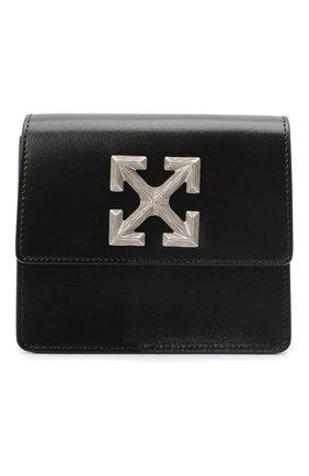 Мужская кожаная сумка OFF-WHITE черного цвета, арт. 0MNA111E20LEA0011000 | Фото 1