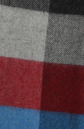 Мужской кашемировый шарф JOHNSTONS OF ELGIN синего цвета, арт. WA000016 | Фото 2