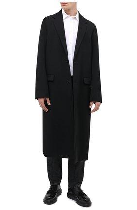 Мужской комбинированные дерби ALEXANDER MCQUEEN черного цвета, арт. 625188/WHX5E | Фото 2