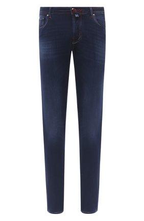 Мужские джинсы JACOB COHEN синего цвета, арт. J688 C0MF 02048-W2/54 | Фото 1
