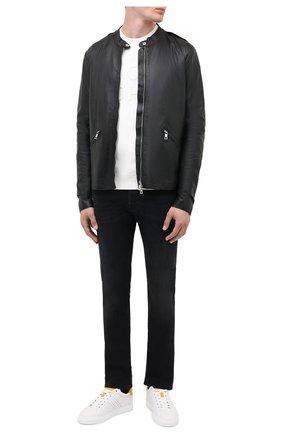 Мужские джинсы JACOB COHEN черного цвета, арт. J688 C0MF 01789-W2/54 | Фото 2