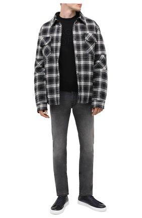 Мужские джинсы JACOB COHEN серого цвета, арт. J688 C0MF 00733-W4/54 | Фото 2