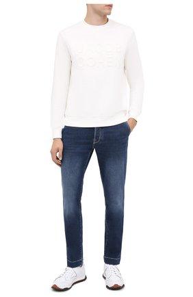Мужские джинсы JACOB COHEN синего цвета, арт. J676 RELAX C0MF 02050-W2/54 | Фото 2