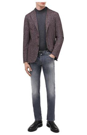 Мужские джинсы JACOB COHEN серого цвета, арт. J622 C0MF 01578-W2/54 | Фото 2