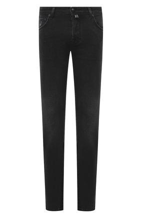 Мужские джинсы JACOB COHEN темно-серого цвета, арт. J620 C0MF 00733-W3/54 | Фото 1