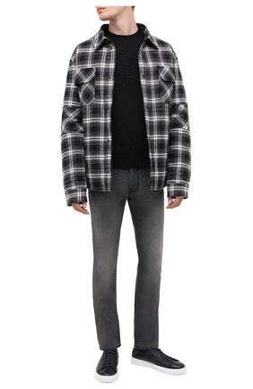 Мужской хлопковый свитшот JACOB COHEN черного цвета, арт. J4096 02201-L/54 | Фото 2