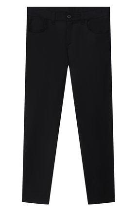 Детские шерстяные брюки DAL LAGO темно-синего цвета, арт. N111/2179/4-6 | Фото 1