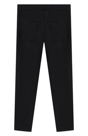 Детские шерстяные брюки DAL LAGO темно-синего цвета, арт. N111/2179/4-6 | Фото 2