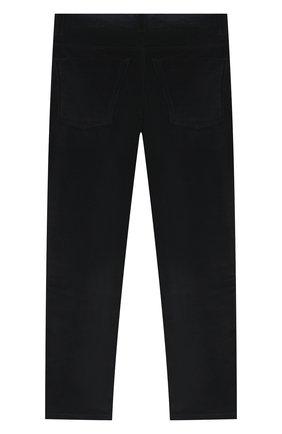Детские хлопковые брюки DAL LAGO темно-синего цвета, арт. N111/2215/7-12 | Фото 2