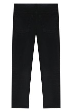Детские хлопковые брюки DAL LAGO темно-синего цвета, арт. N111/2215/13-16 | Фото 2