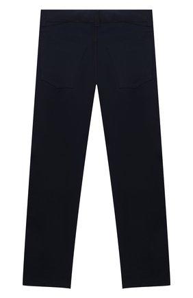 Детские хлопковые брюки DAL LAGO темно-синего цвета, арт. N111/8332/7-12 | Фото 2