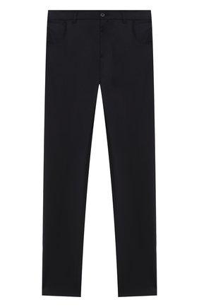 Детские шерстяные брюки DAL LAGO темно-синего цвета, арт. N111M/2179/17/L-18/XL | Фото 1