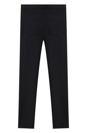 Детские шерстяные брюки DAL LAGO темно-синего цвета, арт. N111M/2179/17/L-18/XL | Фото 2