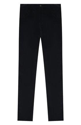 Детские хлопковые брюки DAL LAGO темно-синего цвета, арт. N111M/2215/17/L-18/XL | Фото 1