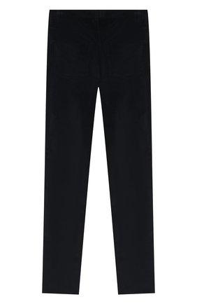 Детские хлопковые брюки DAL LAGO темно-синего цвета, арт. N111M/2215/17/L-18/XL | Фото 2
