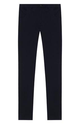 Детские хлопковые брюки DAL LAGO темно-синего цвета, арт. N111M/8332/17/L-18/XL | Фото 1
