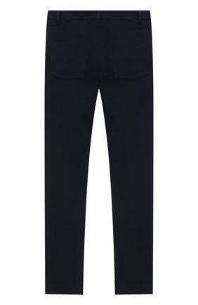 Детские хлопковые брюки DAL LAGO темно-синего цвета, арт. N111M/8332/17/L-18/XL | Фото 2