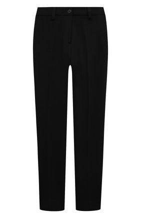 Детского брюки DAL LAGO черного цвета, арт. R210/8111/4-6 | Фото 1
