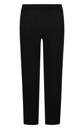 Детского брюки DAL LAGO черного цвета, арт. R210/8111/4-6 | Фото 2