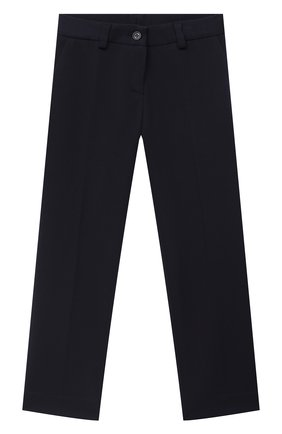 Детского брюки DAL LAGO синего цвета, арт. R210P/8111/7-12 | Фото 1