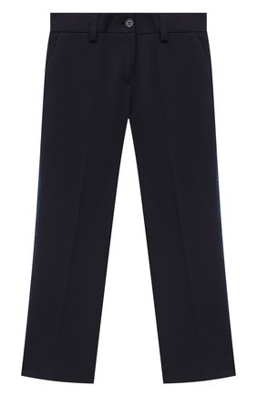 Детского брюки DAL LAGO синего цвета, арт. R210P/8111/4-6 | Фото 1