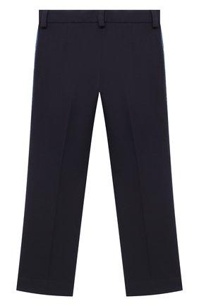 Детского брюки DAL LAGO синего цвета, арт. R210P/8111/4-6 | Фото 2