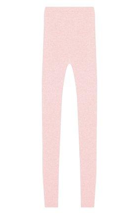 Детского кашемировые леггинсы LORO PIANA светло-розового цвета, арт. FAI7091 | Фото 2