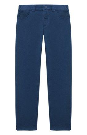 Детские брюки LORO PIANA бирюзового цвета, арт. FAL2583 | Фото 1