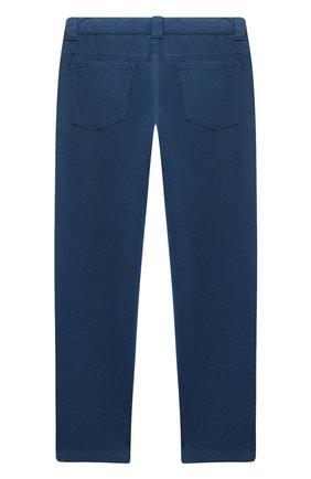 Детские брюки LORO PIANA бирюзового цвета, арт. FAL2583 | Фото 2
