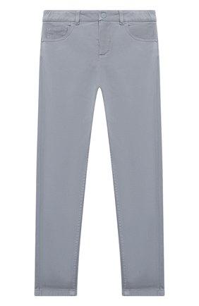 Детского брюки LORO PIANA голубого цвета, арт. FAL2585 | Фото 1