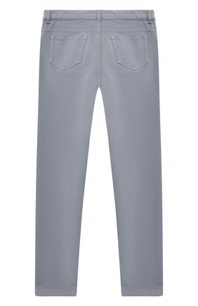 Детского брюки LORO PIANA голубого цвета, арт. FAL2585 | Фото 2