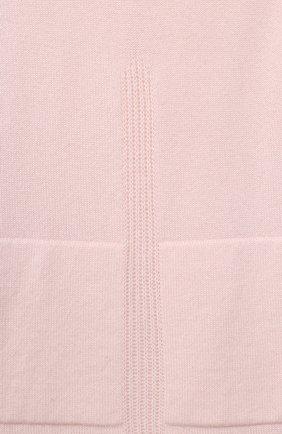 Детское кашемировое платье LORO PIANA светло-розового цвета, арт. FAL3169 | Фото 3 (Материал внешний: Шерсть; Рукава: Длинные; Случай: Повседневный; Ростовка одежда: 10 - 11 лет | 140 - 146см, 4 года | 104 см, 6 лет | 116 см, 8 лет | 128 см)