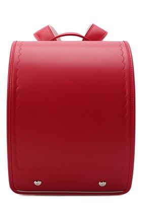 Детская ранец randoseru SEIBAN красного цвета, арт. KG20B02-2525 | Фото 1