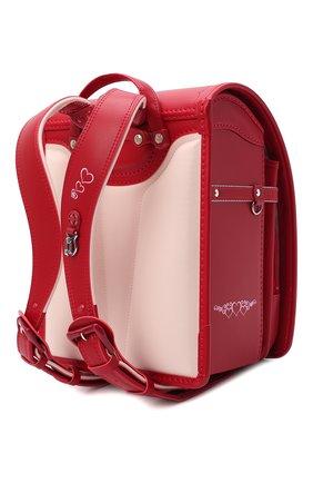 Детская ранец randoseru SEIBAN красного цвета, арт. KG20B02-2525 | Фото 2