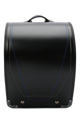 Детская ранец randoseru SEIBAN черного цвета, арт. WA16B9070 | Фото 1