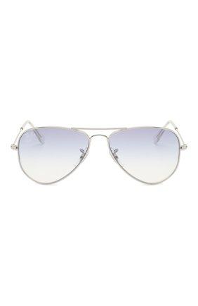 Детские солнцезащитные очки RAY-BAN голубого цвета, арт. 9506S-212/19 | Фото 2