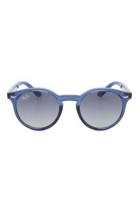 Детские солнцезащитные очки RAY-BAN синего цвета, арт. 9064S-70624L | Фото 2