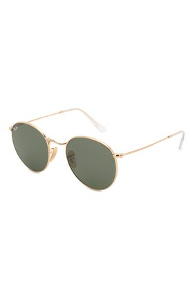 Женские солнцезащитные очки RAY-BAN темно-зеленого цвета, арт. 3447N-001 | Фото 1